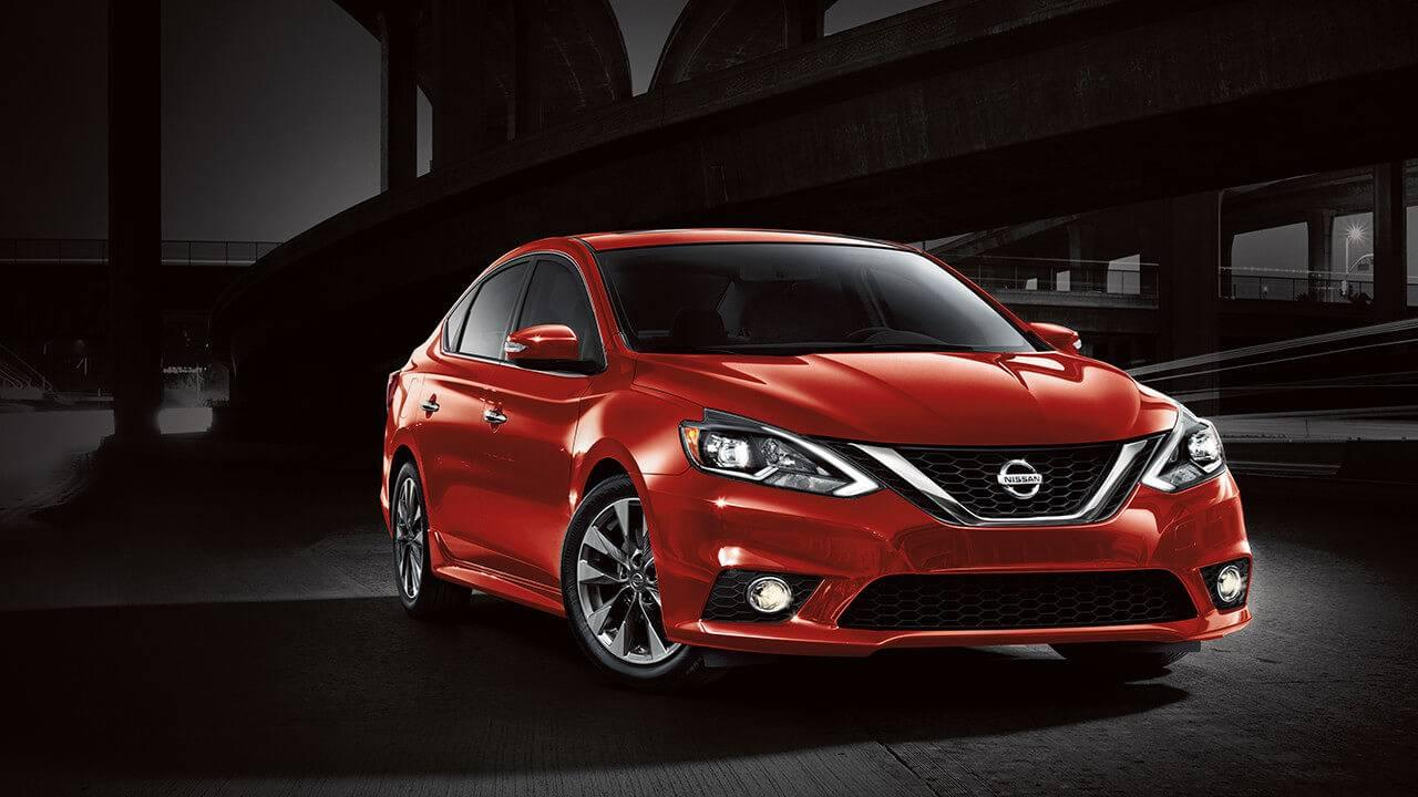 2017 Nissan Sentra front exterior