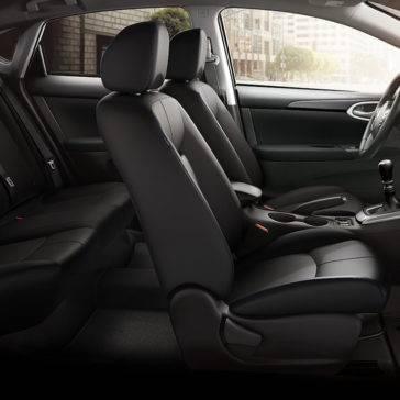 2017 Nissan Sentra interior seating