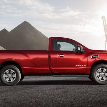 2017 Nissan Titan side view