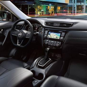 2017 Nissan Rogue Front Interior