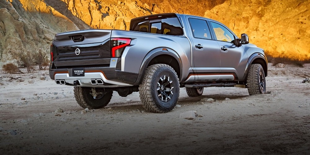 Nissan Titan Warrior Concept rear view