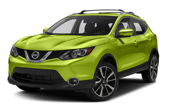 2017 Nissan Rogue white background