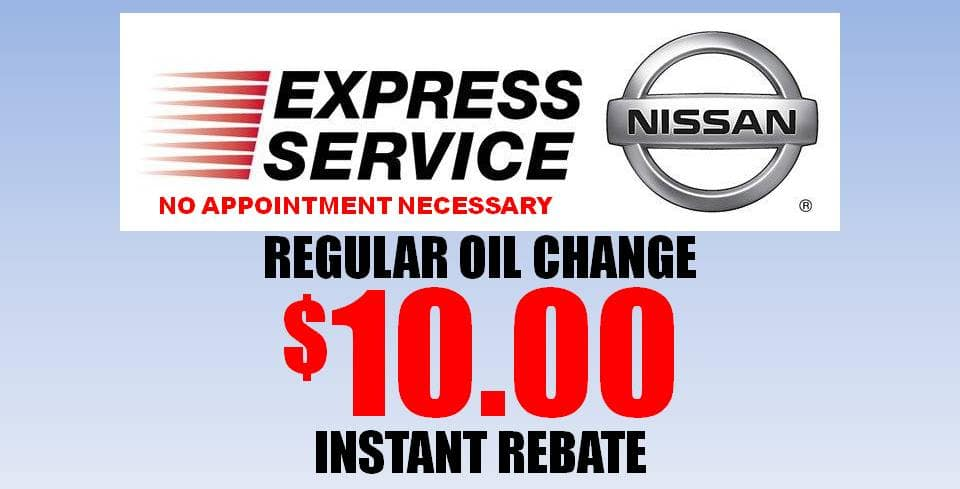 Includes Up To Five (5) Quarts Of Regular Motor Oil, One (1) Oil Filter And  Multi Point Vehicle Inspection.