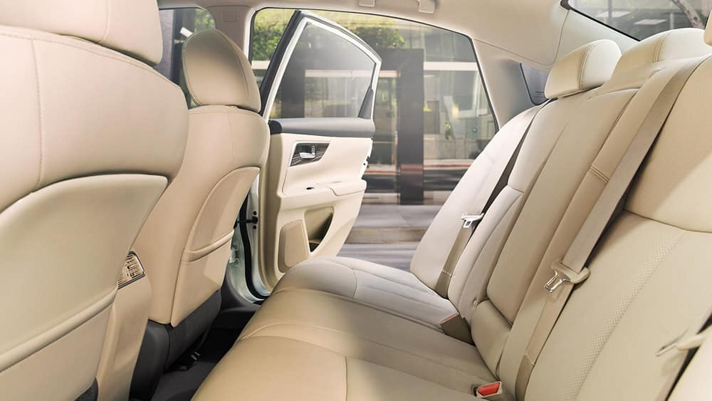 2018 Nissan Altima rear seating
