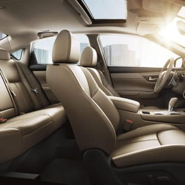 2018 Nissan Altima seating