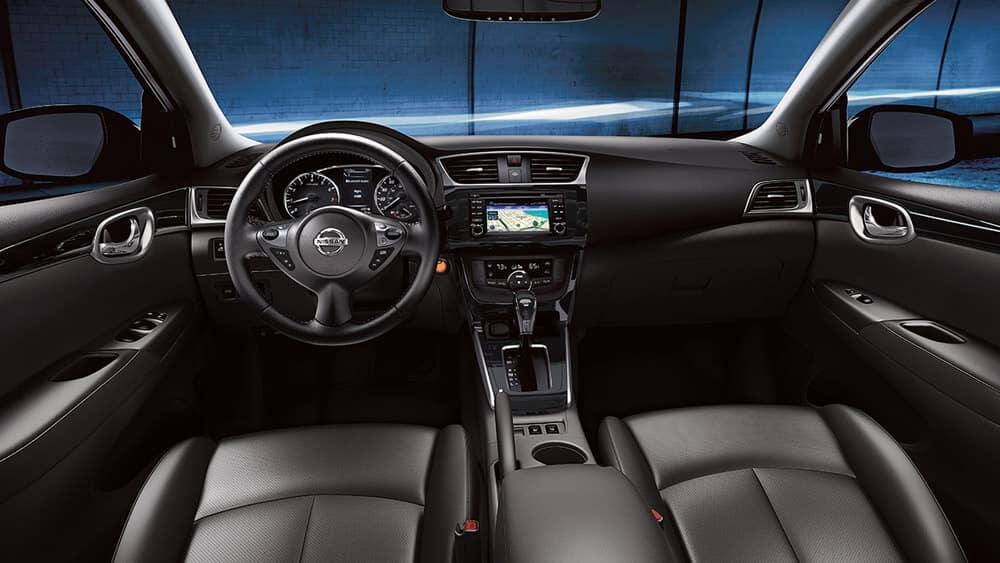 2018 Nissan Sentra front interior