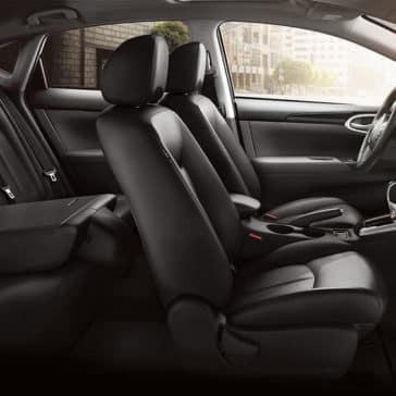 2018 Nissan Sentra rear folded seat