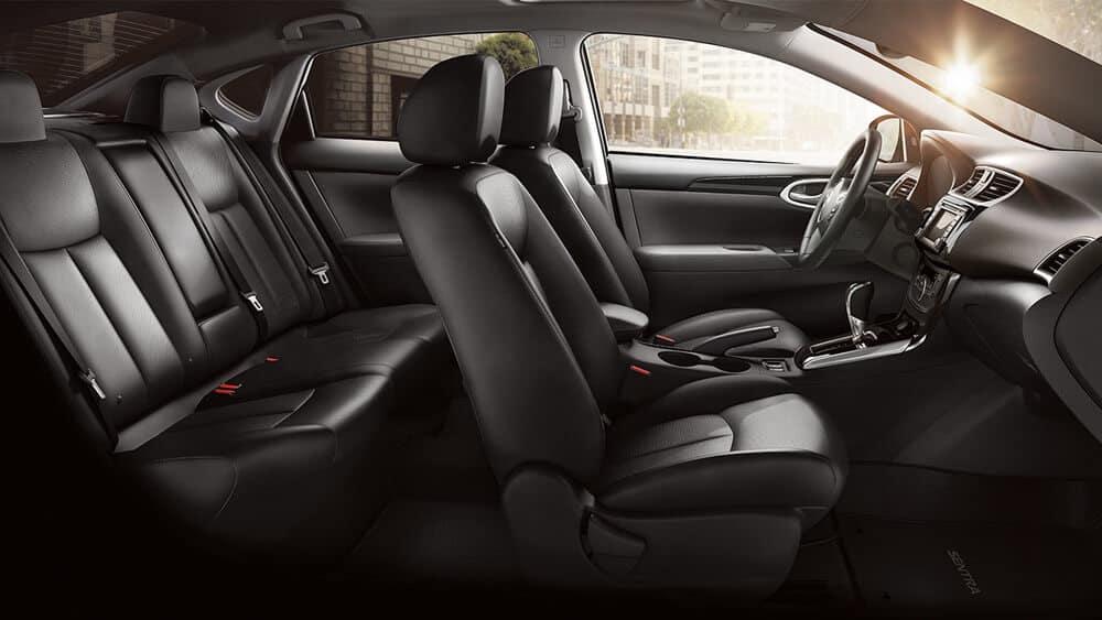 2018 Nissan Sentra seating