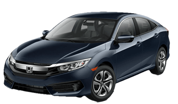 2018 Honda Civic Sedan white background