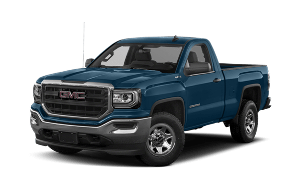 2018 GMC Sierra 1500 white background
