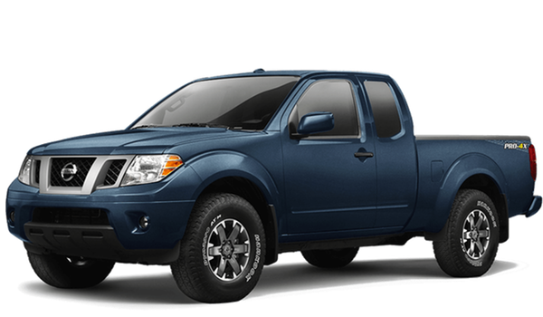 2018 Nissan Frontier white background