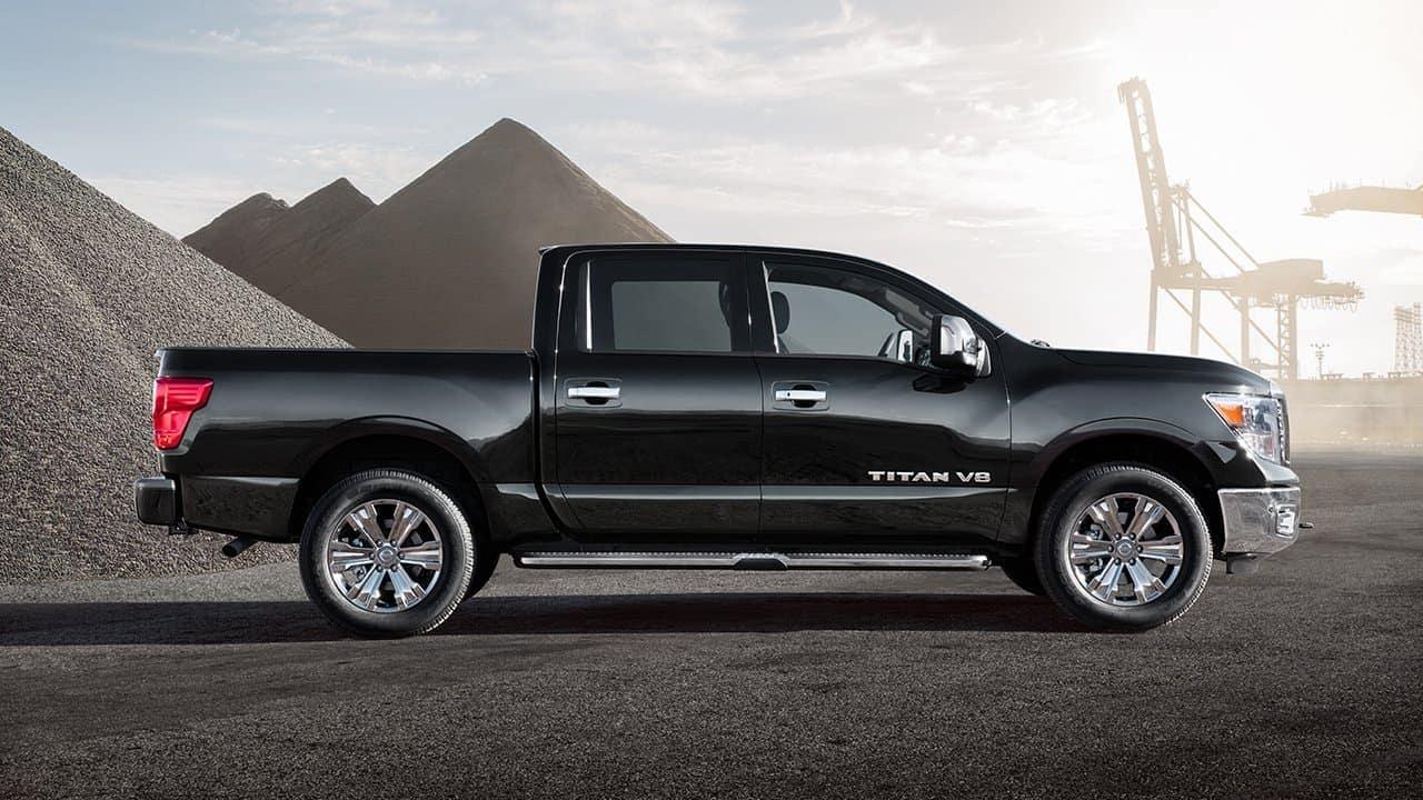 2018 Nissan Titan Exterior Side View