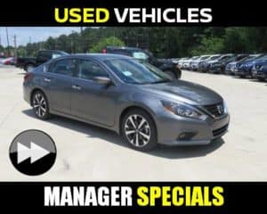 Manager Specials Used Vehicles