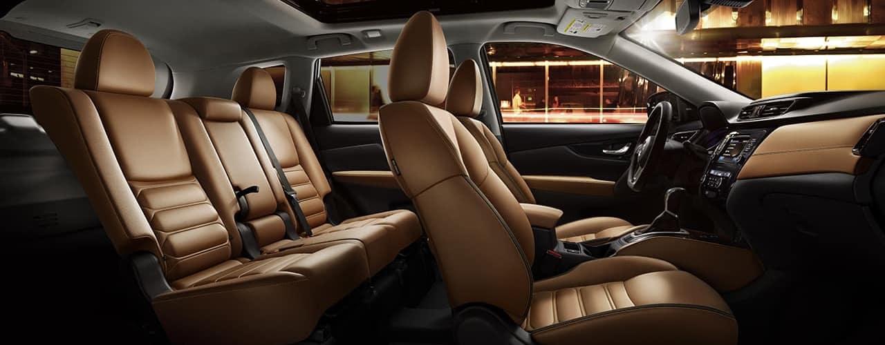 2018 Nissan Rogue Interior Seats