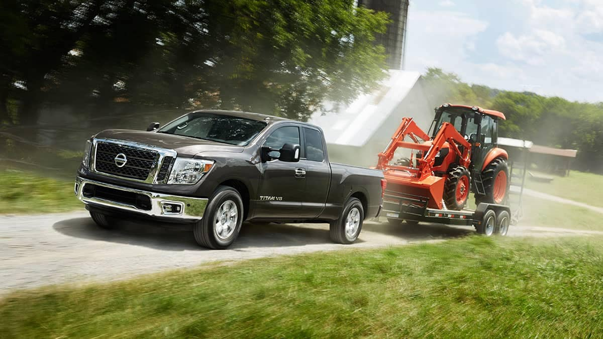 2018 Nissan Titan towing capabilities