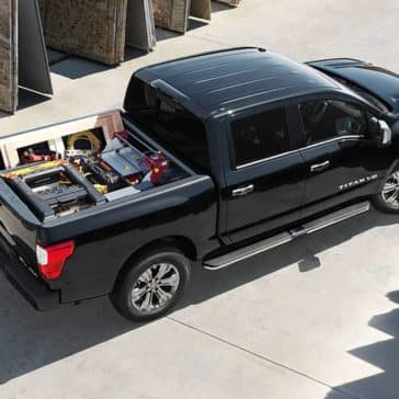 2018 Nissan Titan Birds Eye View