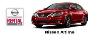 Nissan Altima Rental Car