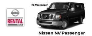 Nissan NV Passenger Rental