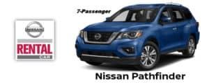 Nissan Pathfinder Rental Car
