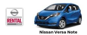 Nissan Versa Note Rental Car