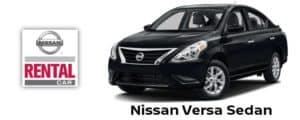 Nissan Versa Sedan Rental Car