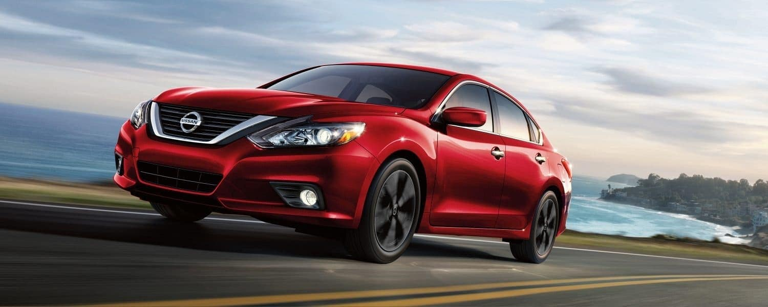 2018 Nissan Altima Red Exterior. The Gas Mileage ...