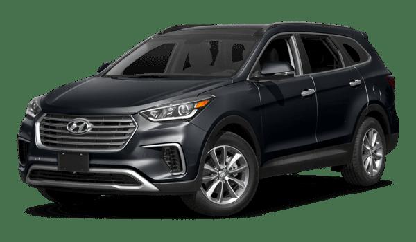 2018 Hyundai Santa Fe white background