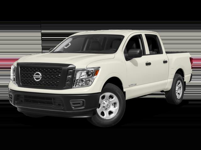 White 2018 Nissan Titan
