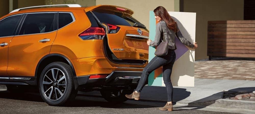 2018 Nissan Rogue Bright Orange Exterior