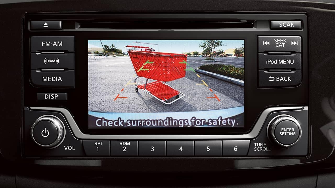 2018 Nissan Versa safety features