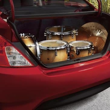 2018 Nissan Versa cargo space