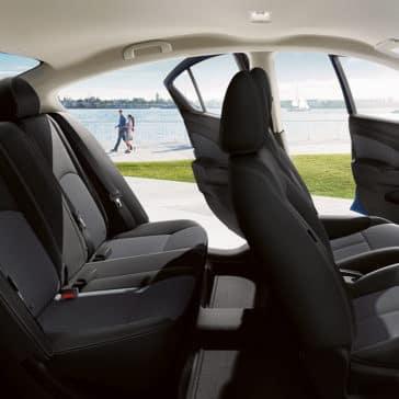 2018 Nissan Versa seating