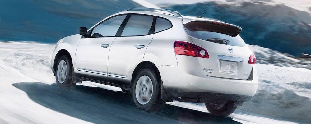 2015 Silver Nissan Rogue Select