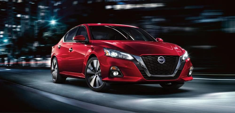 2019 Nissan Altima Exterior Red