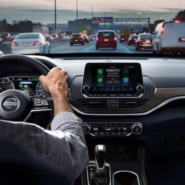 2019 Nissan Altima front interior