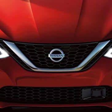 2019 Nissan Sentra front exterior up close