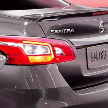 2019 Nissan Sentra exterior up close
