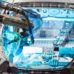 robot arm manufacturing nissan leaf