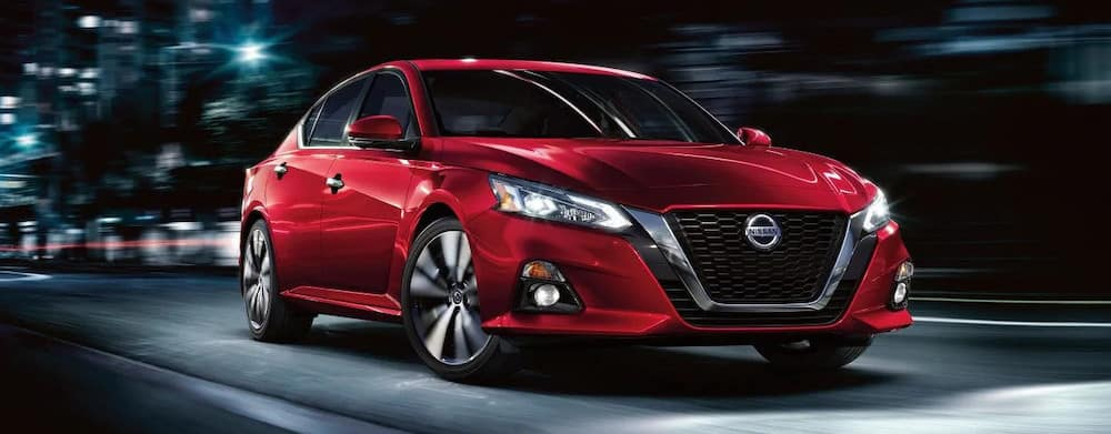 2019 Nissan Altima exterior in red