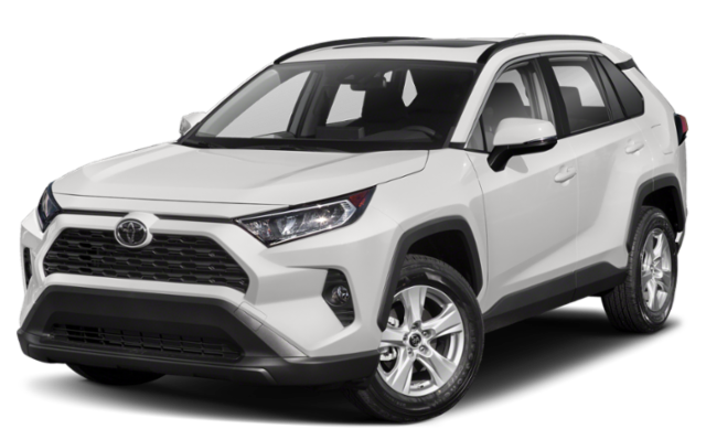 2019 Toyota RAV4 in white