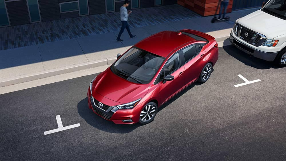 2020 Nissan Versa Parking