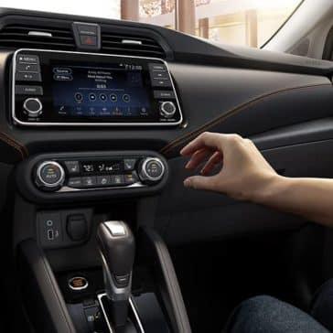 2020 Nissan Versa Technology