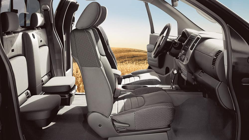 2019 Nissan Frontier Seating