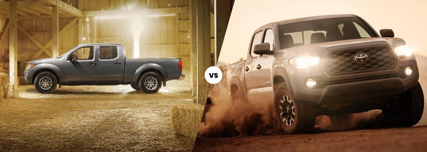 2020 Nissan Frontier vs Toyota Tacoma