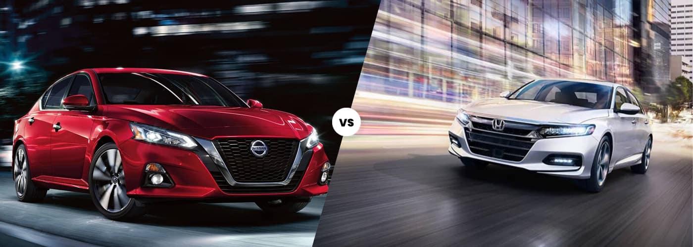 2020 Nissan Altima vs 2020 Honda Accord