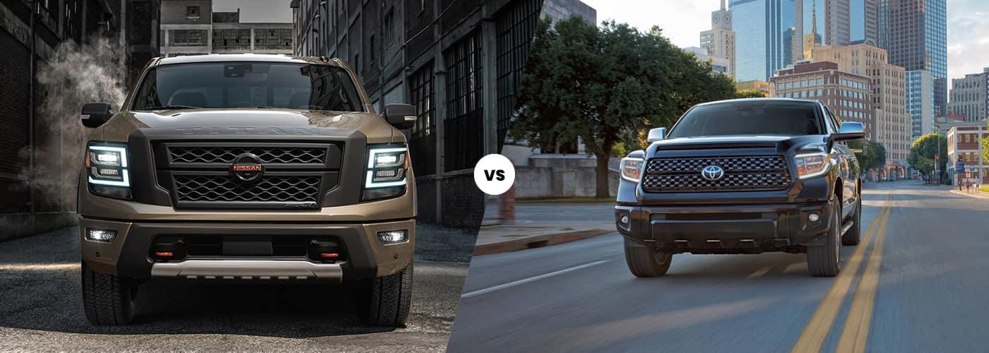 2020 Nissan Titan vs 2021 Toyota Tundra