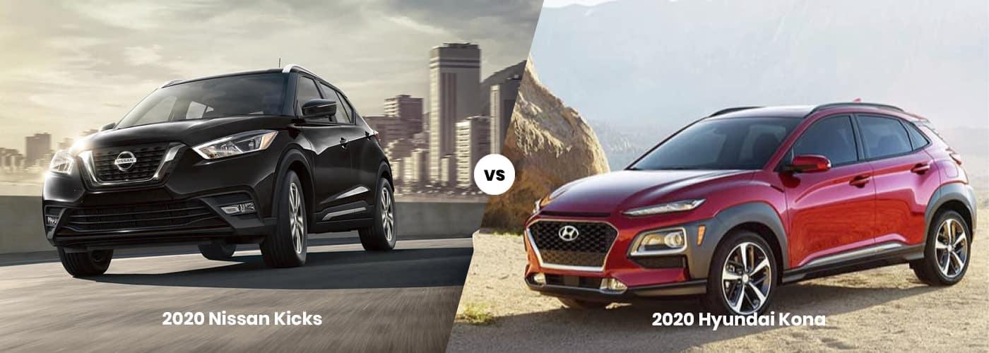 2020 Nissan Kicks vs 2020 Hyundai Kona comparison
