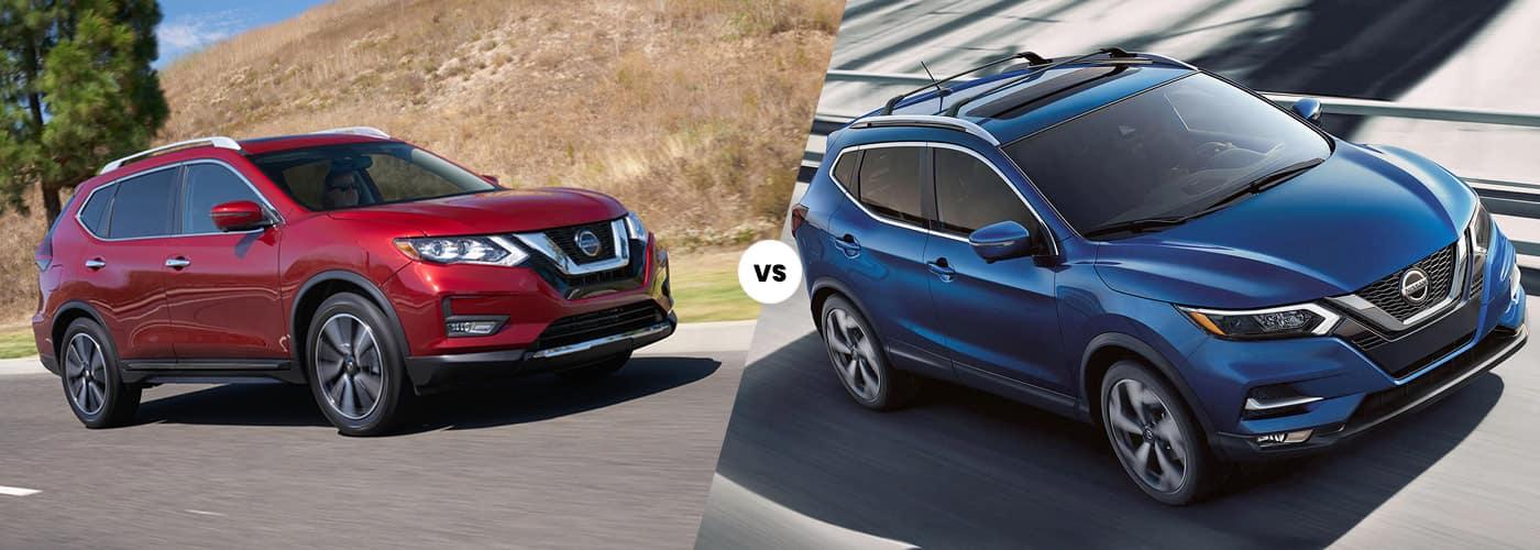 2020 Nissan Rogue vs. 2020 Nissan Rogue Sport Comparison