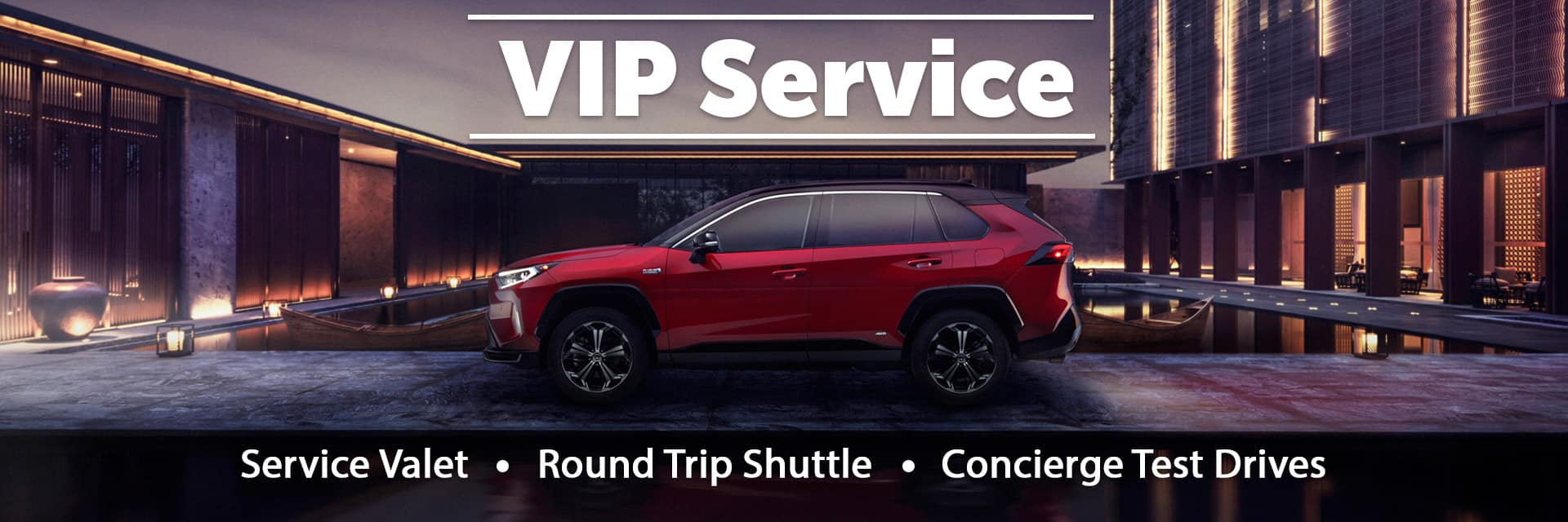 VIP Service Slider
