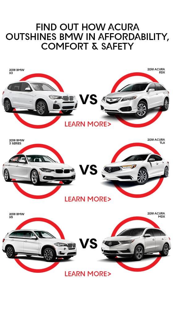 Acura vs BMW Comparison